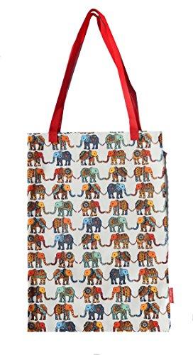 Selina-Jayne Elefanten Limitierte Auflage Designer Baumwolltasche (Tote Bag)