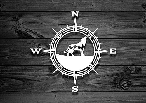 Yilooom Wolf Vinilo Decal, Calcomanía de coche, Calcomanía de montaña, Adhesivos para portátiles, Aventura, Accesorios para Ventana de Coche – 10 ...