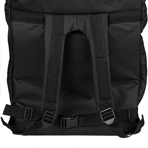 Full Size Car Seat Travel Bag - Black Carseat Carrier and Car Seat Bag for Airplane by Hope and Kisses (Image #5)