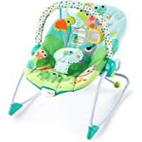 Bright Starts Playful Parade Baby to Big Kid Rocker, Full Body Recline With 2 Positions