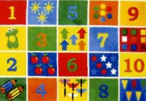 LA Rug Number Blocks Rug 39