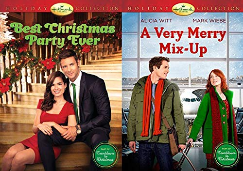 Hallmark Holiday Collection - Part of Countdown to Christmas Series - A Very Merry Mix-Up & The Best Christmas Party Ever 2-DVD Christmas Bundle