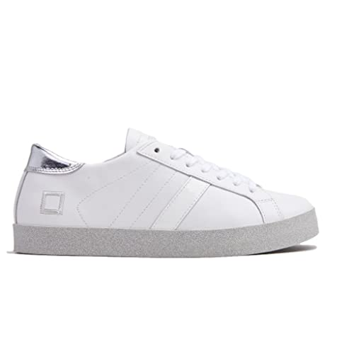 D t Scarpa a Sneakers Pelle Bianco Print eDonna Hill Low tshQrd