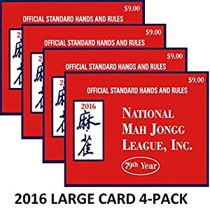 Luscious image in national mah jongg league card printable
