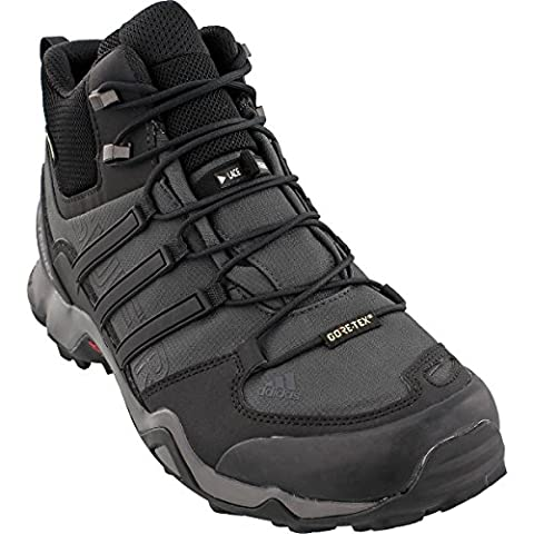 Adidas Terrex Swift R Mid GTX Hiking Shoe - Men's Dark Grey/Black/Granite 14