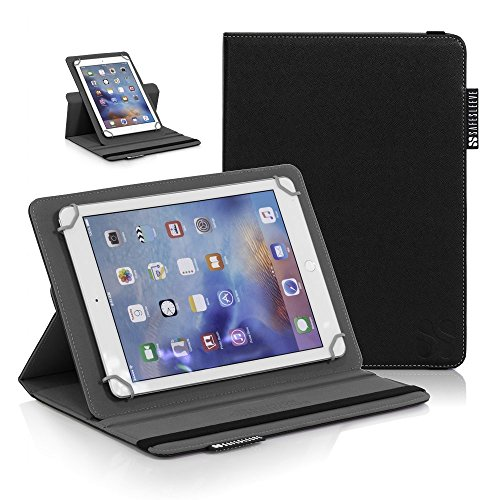 iPad EMF Radiation Blocking Case - SafeSleeve Universal Tablet Case For for 9''-10'' tablet computers including iPad, iPad Air, iPad Pro 9.7, Galaxy Tab 9.7, Nexus 10, Nook HD+ and more - Black by SafeSleeve