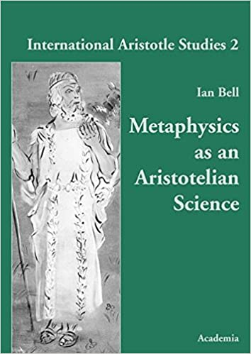 Metaphysics As An Aristotelian Science Livre En Allemand