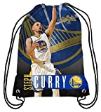 Golden State Warriors Steph Curry #30 2017 NBA Champions Printed Drawstring Backpack