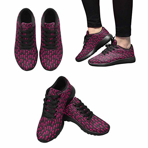 Interestprint Mujeres Jogging Running Sneaker Ligero Go Easy Walking Comfort Deportes Zapatillas De Running Multi 15