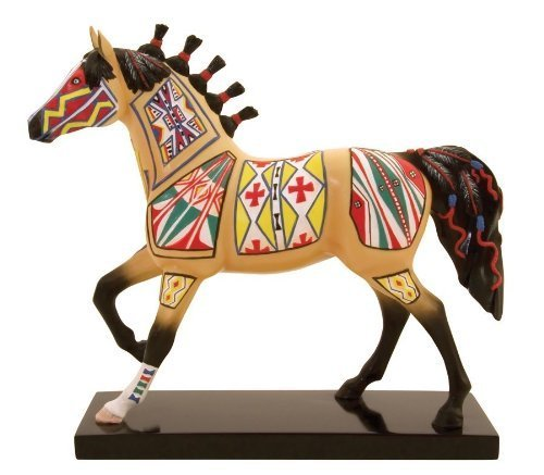 Painted Rawhide - Trail of Painted Ponies Cheyenne Painted Rawhide Pony by Westland Giftware