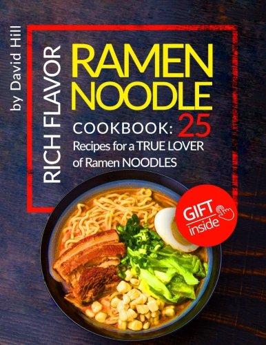 Rich flavor ramen noodle Cookbook noodles product image