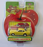 Fresh Cherries Die-Cast Replicas 1970 Yellow Ford Maverick Classic Car by Motor Max