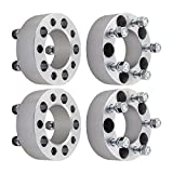 "4pcs 2"" Jeep 5x4.5 Wheel Spacers Adapters 5 Lug 1/2"" Studs 5x114.3 for TJ YJ XJ KJ KK ZJ MJ Wrangler Grand Cherokee Liberty Comanche"
