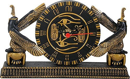 - YTC Summit International Ancient Egyptian Hieroglyphic Design Desk Clock Home Decoration Egypt New