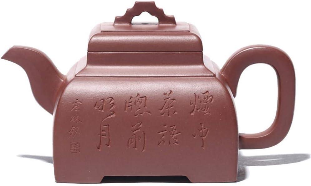 ZJN-JN キントー ティーポット 高級感 おしゃれ プレゼント XinQuan王宜興は有名な手作りブティックパープルクレイティーポット橋カルテットバルク茶ギフトをティーポット 贈り物