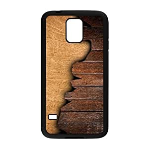 Wood Print Personalized Cover Case for SamSung Galaxy S5 I9600,customized phone case ygtg-293741