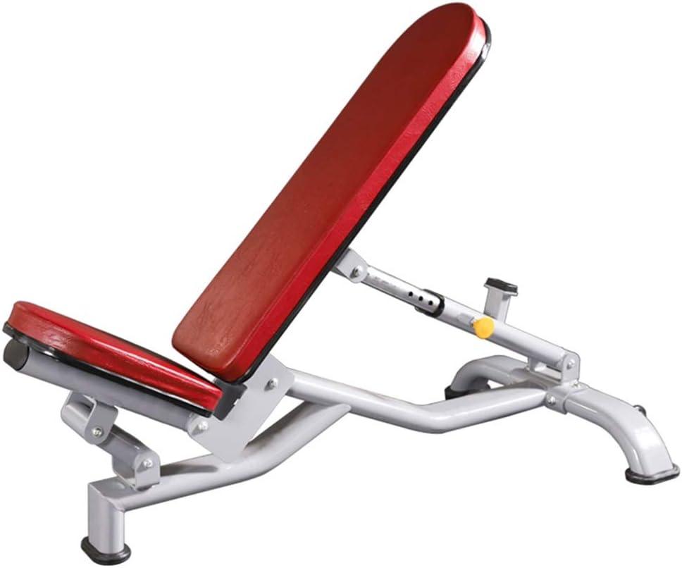 トレーニングベンチ 調節可能な重量ベンチ 座りアップボード ダンベルベンチ ベンチプレス ジム用器具 積載量300kg 筋力トレーニング (Color : 赤, Size : 64*144*64cm) 赤 64*144*64cm