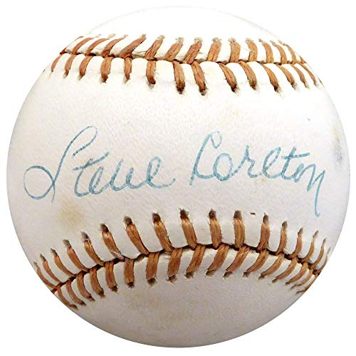 (Steve Carlton Signed Baseball - Official NL St Louis Cardinals Beckett BAS #H10612 - Beckett Authentication)
