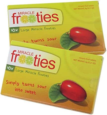 Miracle Frooties Miracle Fruit Tablets XL(Two Packs)