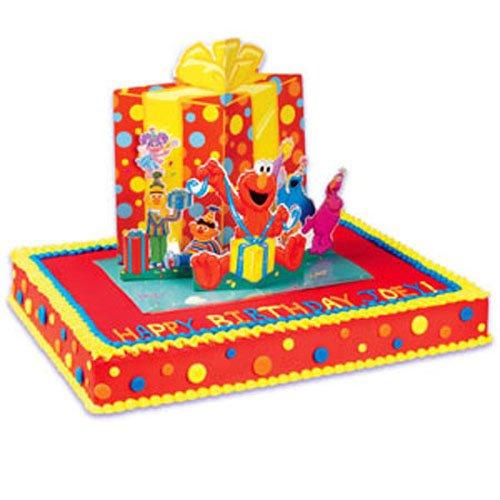 (Sesame Street Pop Up Birthday Cake Decorating Kit)