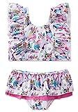 swimsobo Baby Girls Swimsuits Tankini Cat Cartoon