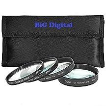 67mm Macro Close-Up Filter set +1 +2 +4 +10 w/ filter Wallet for Nikon 18-105 18-140mm 18-135mm 18-70mm 16-85mm 35mm Lens
