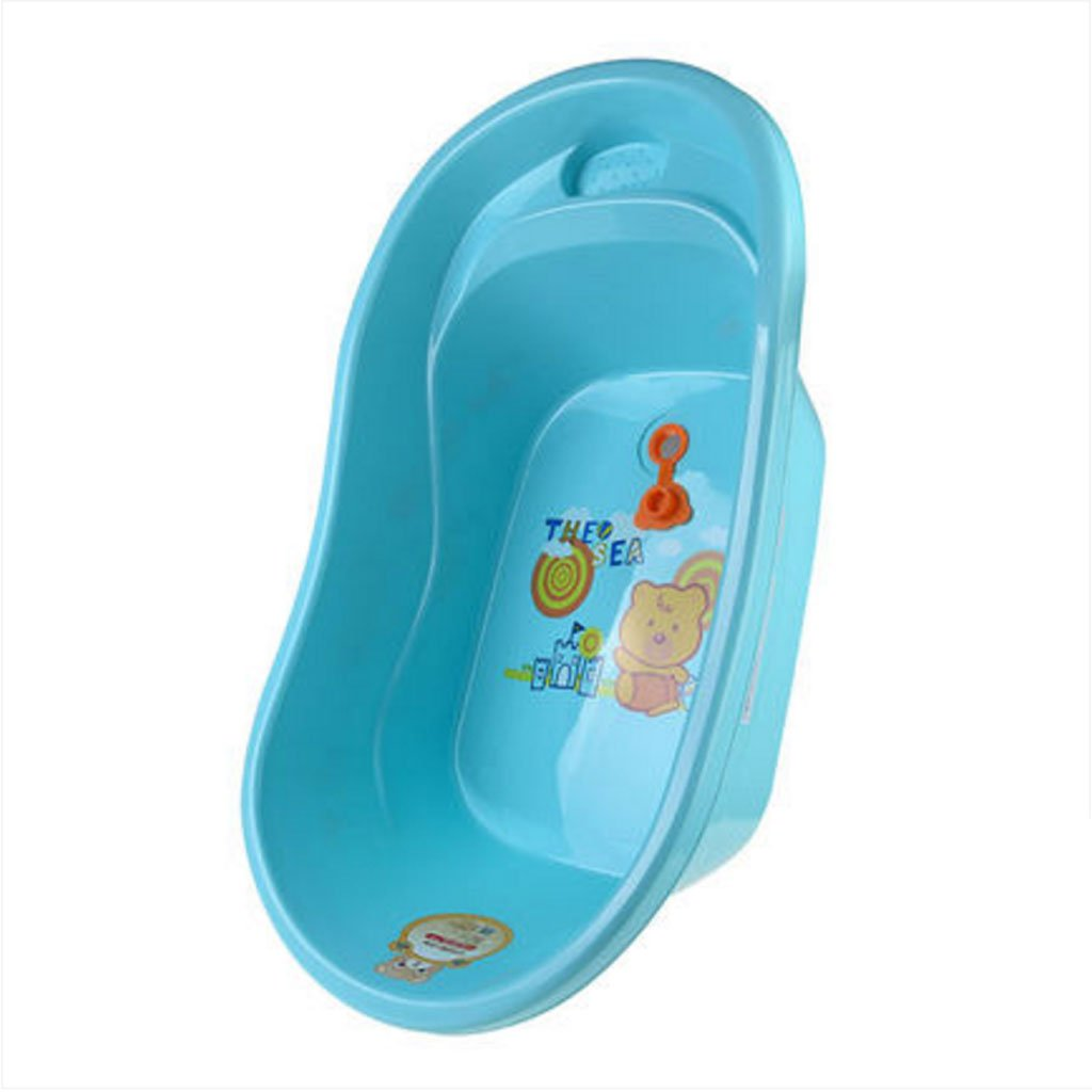 bluee JiuErDP Dog bath tub small and medium dog bath pet supplies cat bath basin green thick bath Pet bowl (color   bluee)