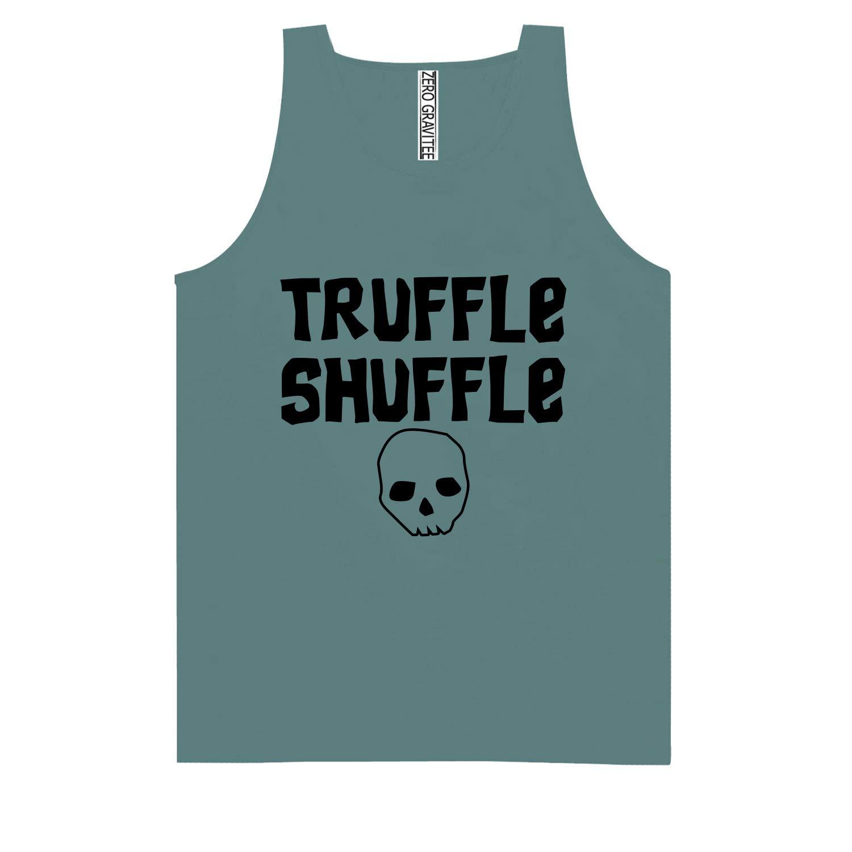 Truffle Shuffle Adult Pigment Dye Tank Top