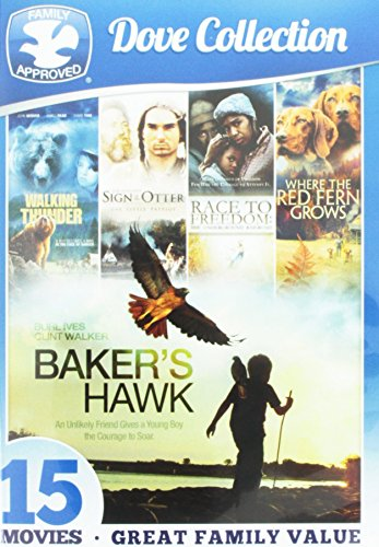 15-Movie Dove Family Collection (Full Frame, Widescreen, 3 Pack, Slim Pack, Download Insert)