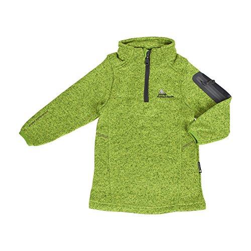 Peak Mountain - Fleece-Sweatshirt Junge ECYPA1016-grün-12 Jahre