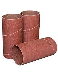 POWERTEC 11214 4-1/2-Inch x 2-Inch 120 Grit Sanding Sleeves, ...