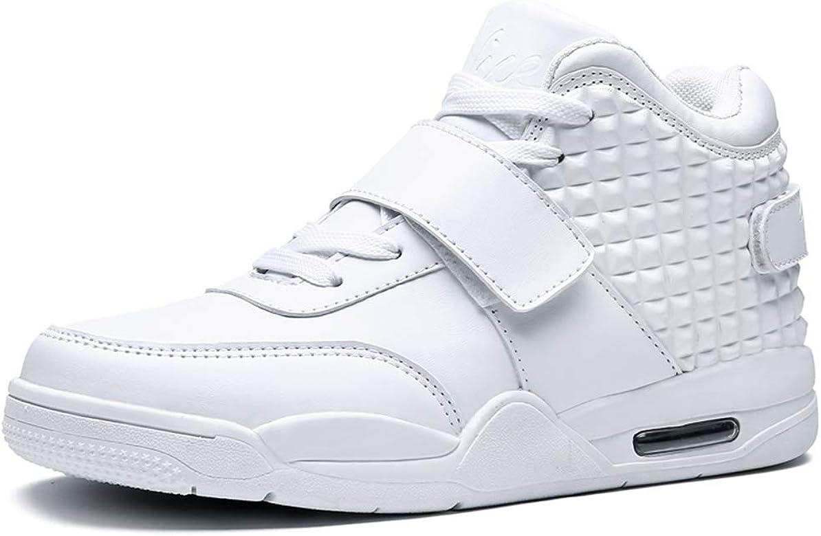 Los Hombres de Baloncesto Zapatos de Alta Superior amortiguación ...