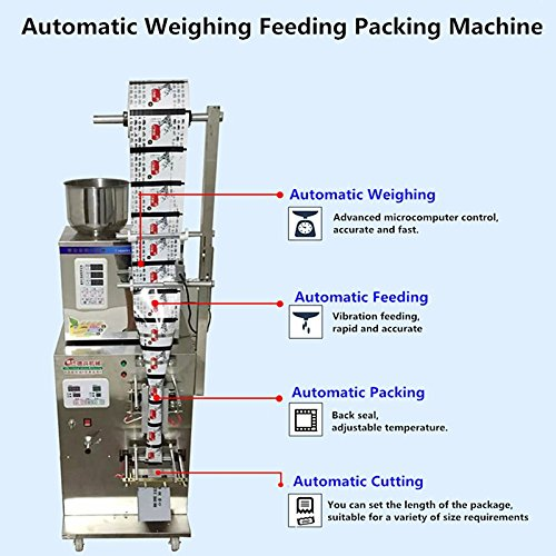 GOWE Cursor Positioning Fully Automatic Weighing Racking Packing Machine Granular Powder Medicinal Filling Machine Accurate 2-50g