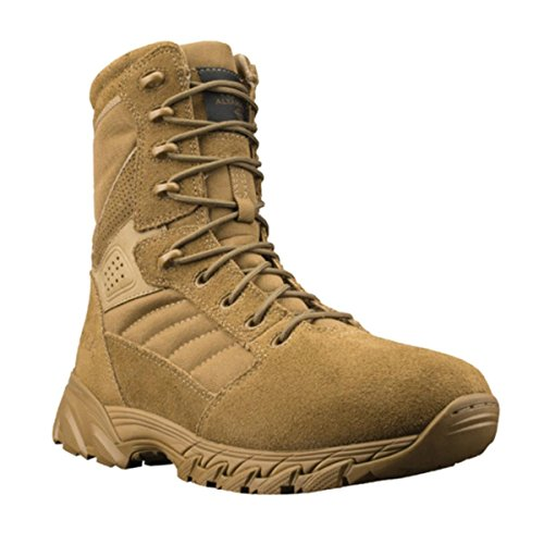 Calzature Altama Mens Foxhound Sr 8 Boot Coyote Suede