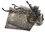 Best Gifts For Halloweens - 50 pcs Gift Bag Pouches Spider Web Transparent Review