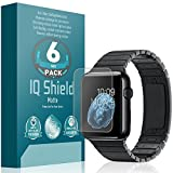 Apple Watch 38mm Screen Protector, IQ Shield Matte (6-Pack) Full Coverage Anti-Glare Screen Protector for Apple Watch 38mm Bubble-Free Film - with