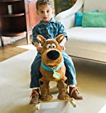 Animal Adventure | Real Wood Ride-On Plush Rocker | Scooby Doo | Perfect for Ages