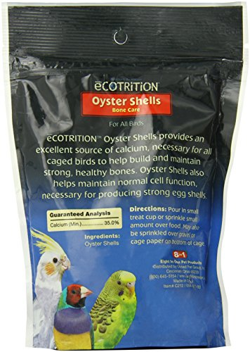 Image of Ecotrition Oyster Shells Bone Care for Birds, 10 Ounces (C212)