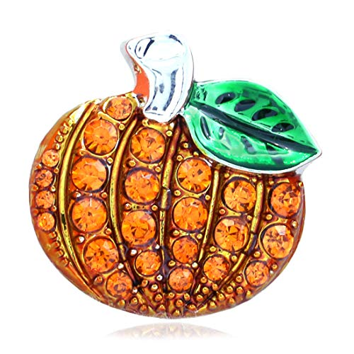 Soulbreezecollection Happy Halloween Party Event Pumpkin Thanksgiving Fall Brooch Pin Fashion Jewelry (Small)