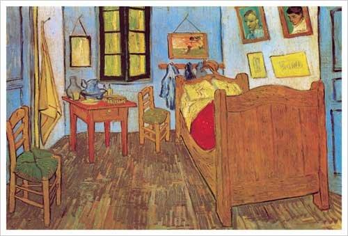 La Chambre de Van Gogh a Arles Art Print Poster by Vincent Van Gogh