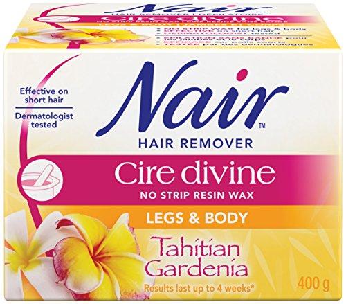 nair-cire-divine-microwaveable-body-hair-removal-wax-kit-tahitian-gardenia-400g-14oz