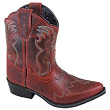 Smoky Mountain Youth Juniper Boots - Red