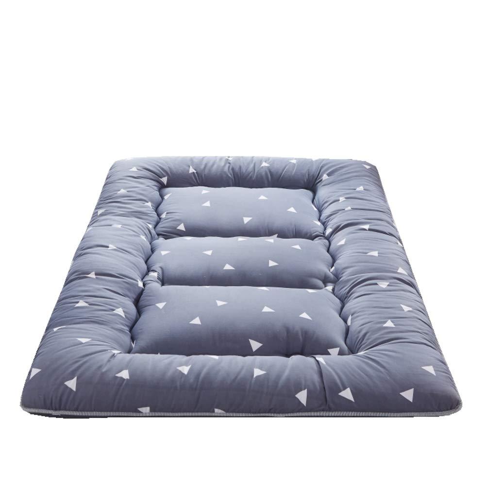 K 200x220cm(79x87inch) Thick Tatami Floor Mat, Foldable Mattress Mat Japanese Sleeping Pad Breathable Futon Matt Mat Mattress Topper for Dormitory Home-o 200x220cm(79x87inch)