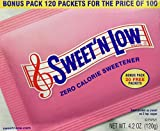 SWEET'N LOW POWDER PAKS 100+20