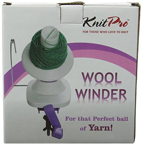 KNIT PRO Ball Winder, White by Knit Pro