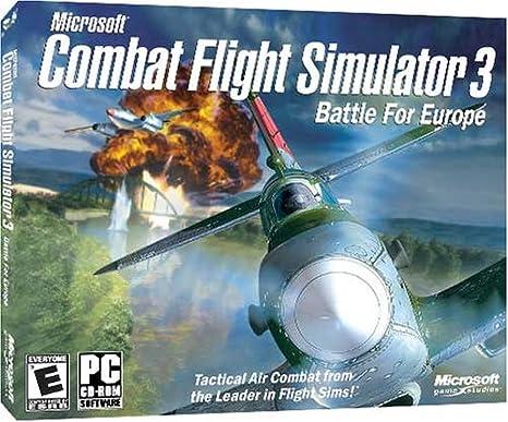 Amazon Com Combat Flight Simulator 3 Battle For Europe Pc Video Games