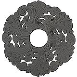 Ekena Millwork CM19ORSGS Orrington Ceiling Medallion, Steel Gray