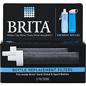 Brita Water Filter Bottle Replacement Filters, 2 Count
