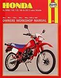 Haynes Honda XL/XR: 80, 100, 125, 185, 200cc 78-87 Repair Manual 566