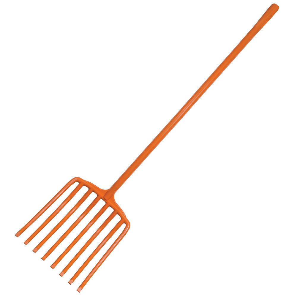 A.M. Leonard All Poly Scoop Fork, 8 Tine, 63 Inches Long
